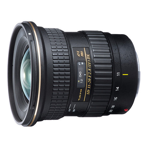 Tokina AT-X 11-20mm F2.8 PRO DX Lens - Canon Mount