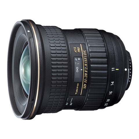 Tokina AT-X 11-20mm F2.8 PRO DX Lens - Nikon Mount