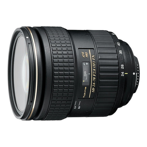 Tokina AT-X 24-70mm F2.8 PRO FX Lens - Nikon Mount