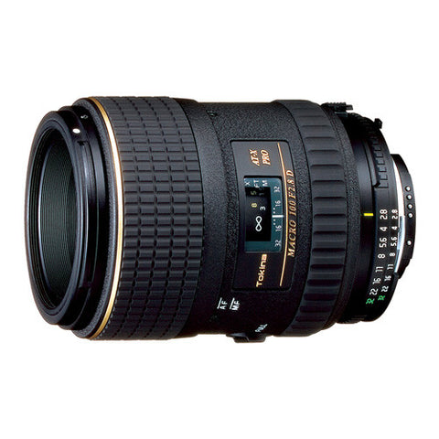 Tokina AT-X 100mm F2.8 PRO D Macro Lens - Nikon Mount