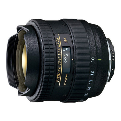 Tokina AT-X 10-17mm F3.5-4.5 DX Fisheye Lens - Nikon Mount