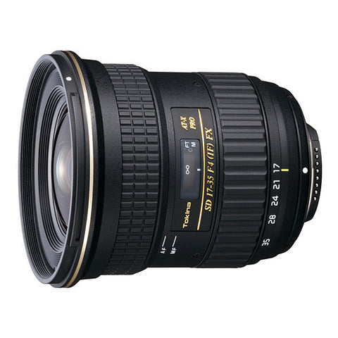 Tokina AT-X 17-35mm F4 PRO FX Lens - Nikon Mount
