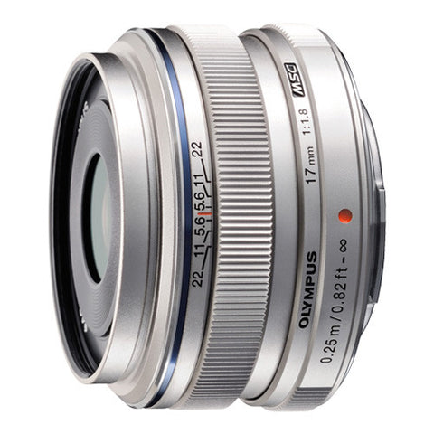 Olympus M.Zuiko Digital 17mm f1.8 Wide Prime Lens - EW-M1718