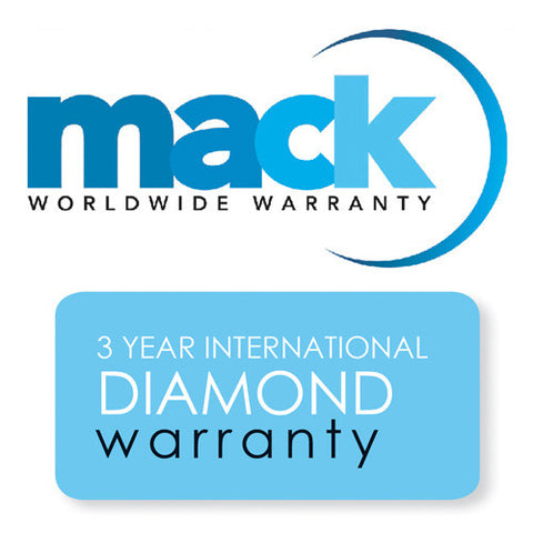 Mack 3-Year International Diamond Warranty for Cameras and Lenses Under $2500 #1814