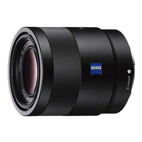 Sony Carl Zeiss Sonnar T* FE 55mm f/1.8 ZA Lens