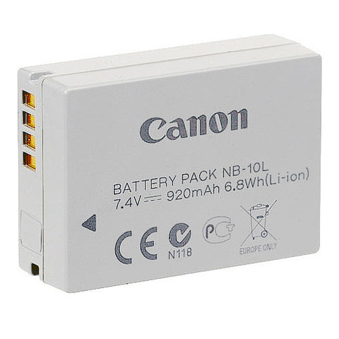 Canon NB-10L Battery Pack - NB10L