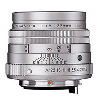 Pentax FA 77mm F1.8 Limited Lens
