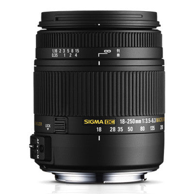 Sigma 18-250mm F3.5-6.3 DC Macro OS HSM Lens - Sony Mount