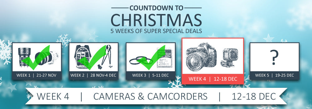 CamBuy Countdown to Christmas - Week 1 - Lenses
