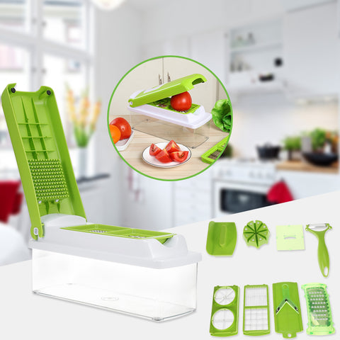 Image of 12 in 1 Magic Vegetable Slicer - Your Lifestyle Corner