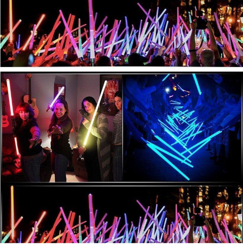 Image of Double Edged SFX Sabers - All Colors & With Sound Effects! - Your Lifestyle Corner