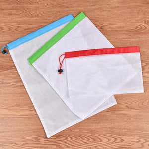 Waste Free Reusable Produce Bags (12 Pcs) - Your Lifestyle Corner