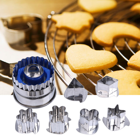 Image of DIY Cake Cookie Pastry Cutter Mold for Decorating Sugar Fondant Cakes Cupcakes Cookie - Your Lifestyle Corner