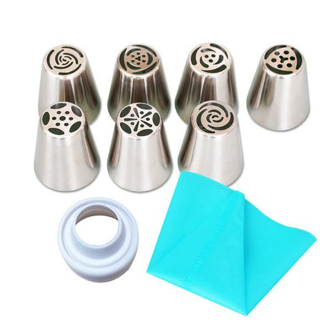 Cake Decorating Nozzle Set - Your Lifestyle Corner