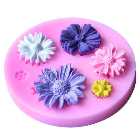 3D Flower Fondant Cake DIY Silicone Mold - Your Lifestyle Corner