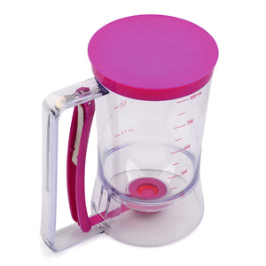 Cupcake & Pancake Mix Dispenser Funnel with Measuring Cup - Your Lifestyle Corner