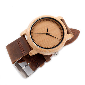 Bamboo Wood Watches for Men and Women - Your Lifestyle Corner
