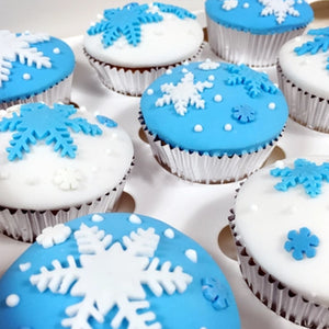 Three Piece Snowflake Fondant Cake Decorating Plunger - Your Lifestyle Corner