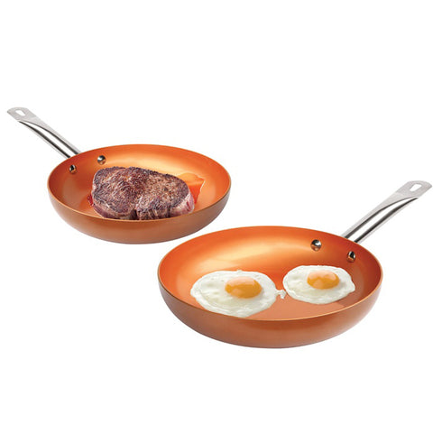 Image of Non-stick Copper Frying Pan - Your Lifestyle Corner