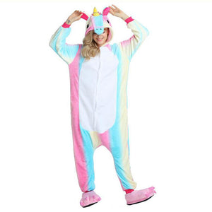 Unicorn Homewear Pajamas Flannel Onesie - Your Lifestyle Corner