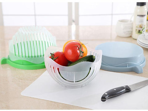 Image of 60 Seconds Salad Cutter Bowl - Your Lifestyle Corner