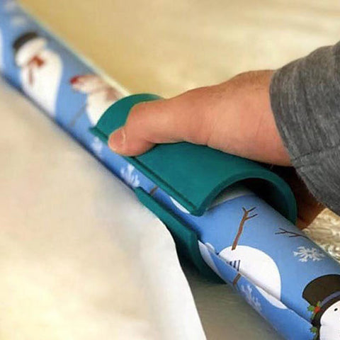 Image of Sliding Wrapping Paper Cutter-Makes Cuts In Seconds - Your Lifestyle Corner