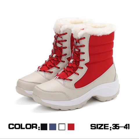 Image of Premium Leather Winter Carnival Snow Boot - Your Lifestyle Corner