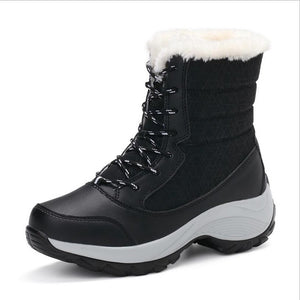 Premium Leather Winter Carnival Snow Boot - Your Lifestyle Corner