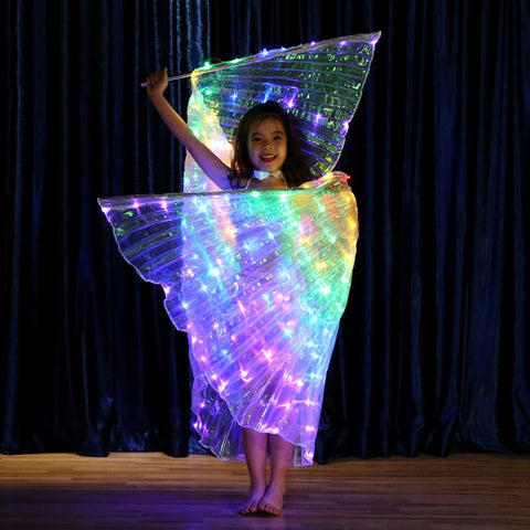Image of RAINBOW WINGS - LED - Your Lifestyle Corner