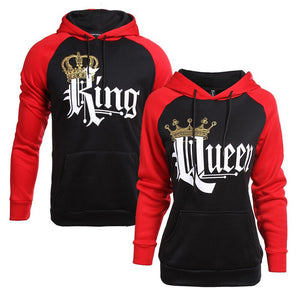 Royal King & Queen Hoodies - Your Lifestyle Corner