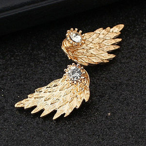 Angel Wing Stud Earrings - Your Lifestyle Corner