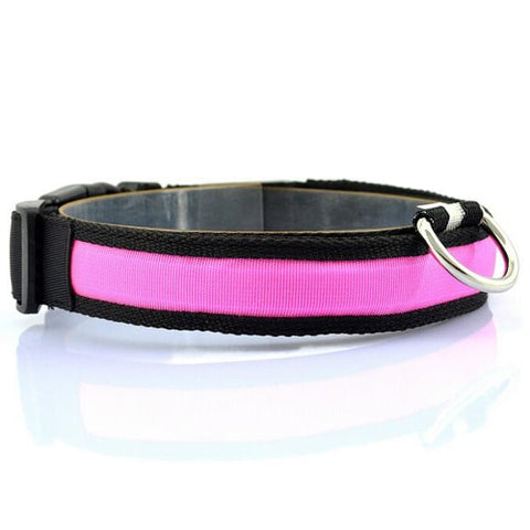 Image of LED Dog Collar For Night Safety - Your Lifestyle Corner