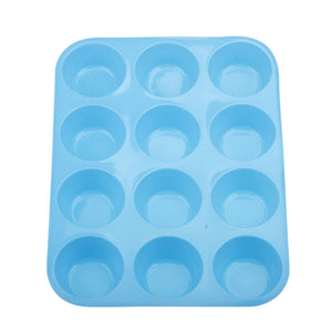 12-Cupped Cake Molding Tray - Your Lifestyle Corner