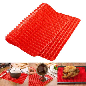 Fat Reducing and Non-Stick Silicone Pyramid Pan - Your Lifestyle Corner