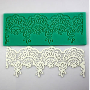 Silicone Flower Lace Decorating Mould - Your Lifestyle Corner