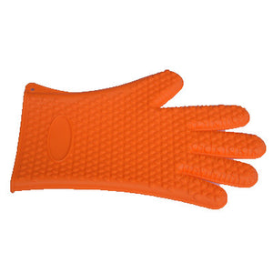 Slip-resistant Food Heat Resistant Thick Silicone Kitchen Oven Gloves - Your Lifestyle Corner
