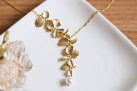 FREE - ORCHID FLOWER NECKLACE - Your Lifestyle Corner