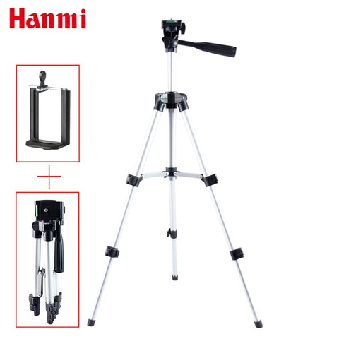 Hanmi Portable Smartphone Digital Camera Flexible Tripod For iPhone 8,7,6,6s,5 plus 5s 4 4s for Samsung S7 S6 S5 S4 Mobile Phone - Your Lifestyle Corner