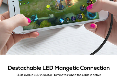 Image of 90 Degree Magnetic LED Cable - Your Lifestyle Corner