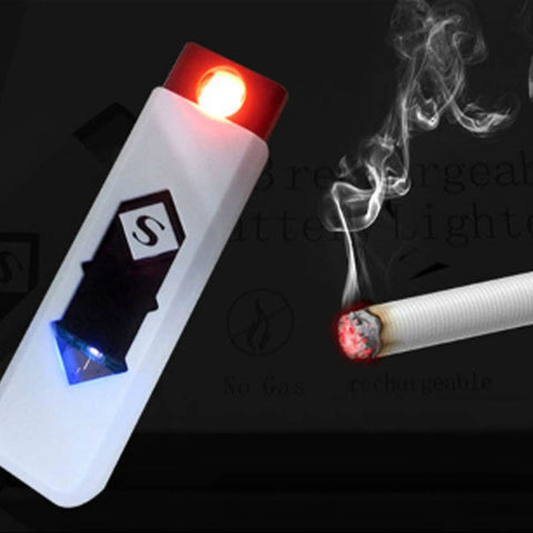 Image of Windproof Nice Gift Smokeless Flameless USB Charging Lighter - Your Lifestyle Corner