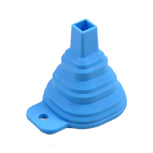 Silicone Folding Telescopic Long Neck Funnel - Your Lifestyle Corner