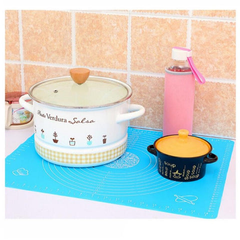Image of Large Silicone Baking Mat for Pastry Rolling Non Stick, Non Slip Professional Size - Your Lifestyle Corner