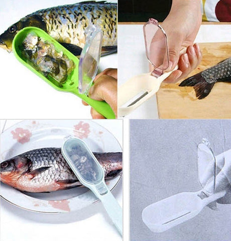 Image of Fish Skin Scraping Fish Scale Brush Graters - Your Lifestyle Corner