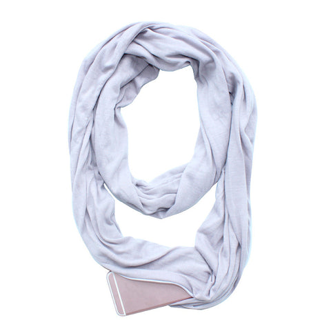 Image of Scarf With Pocket Convertible - Your Lifestyle Corner
