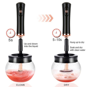 The Amazing Electric Makeup Brush Cleaner - Your Lifestyle Corner