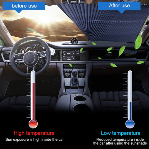 Image of Car Auto Retractable Sunshade - Your Lifestyle Corner