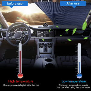 Car Auto Retractable Sunshade - Your Lifestyle Corner