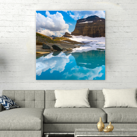 Alaska Wallart Square - Your Lifestyle Corner