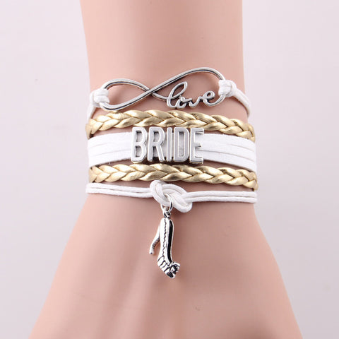 Image of Bridal Party Infinity Love Bracelets - Your Lifestyle Corner