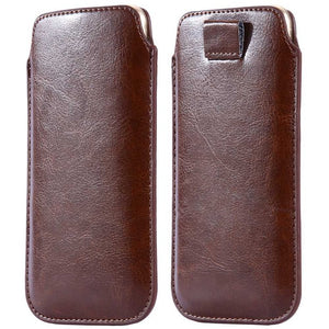Stylish Leather Pouch For iPhone or Android - Your Lifestyle Corner